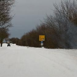 Wintereinbruch in Rettin
