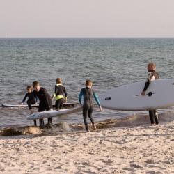 2012-08-29 - Handballtraining auf dem Wasser