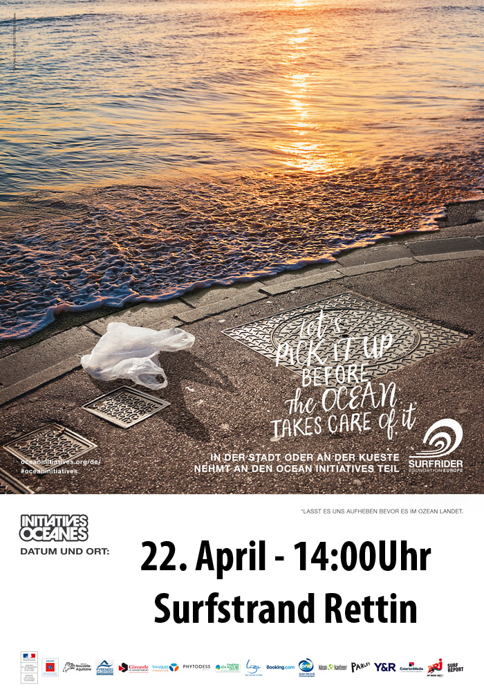 Beach Clean-Up in Rettin an der Ostsee am 22. April um 14:00Uhr